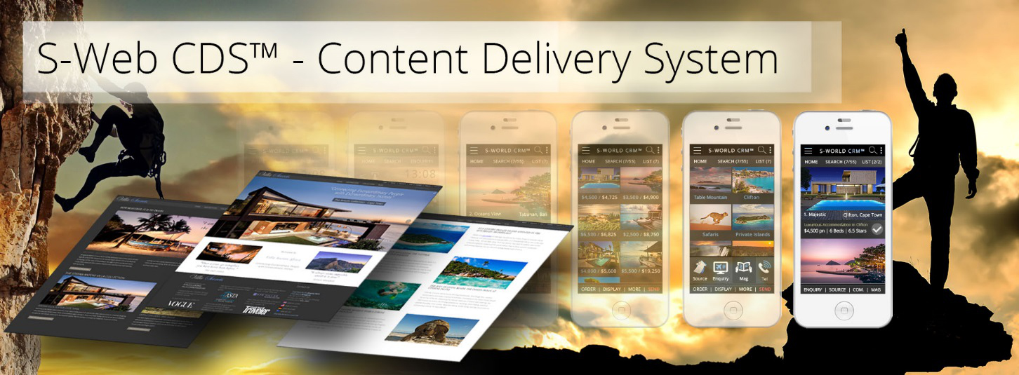 S-Web CDS - Content Delivery System