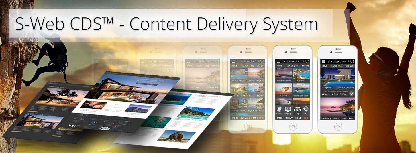 S-Web-CDS-Content Delivery System