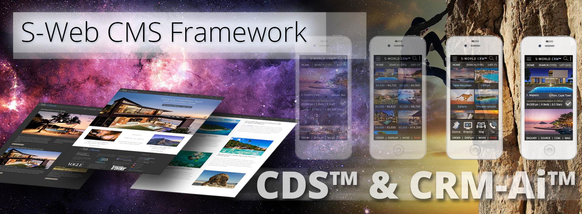 S-Web CMS Framework-CDS & CRM