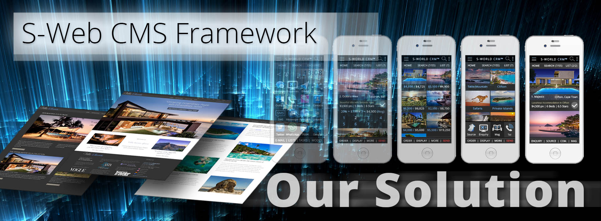 S-Web CMS Framework-Our Solution