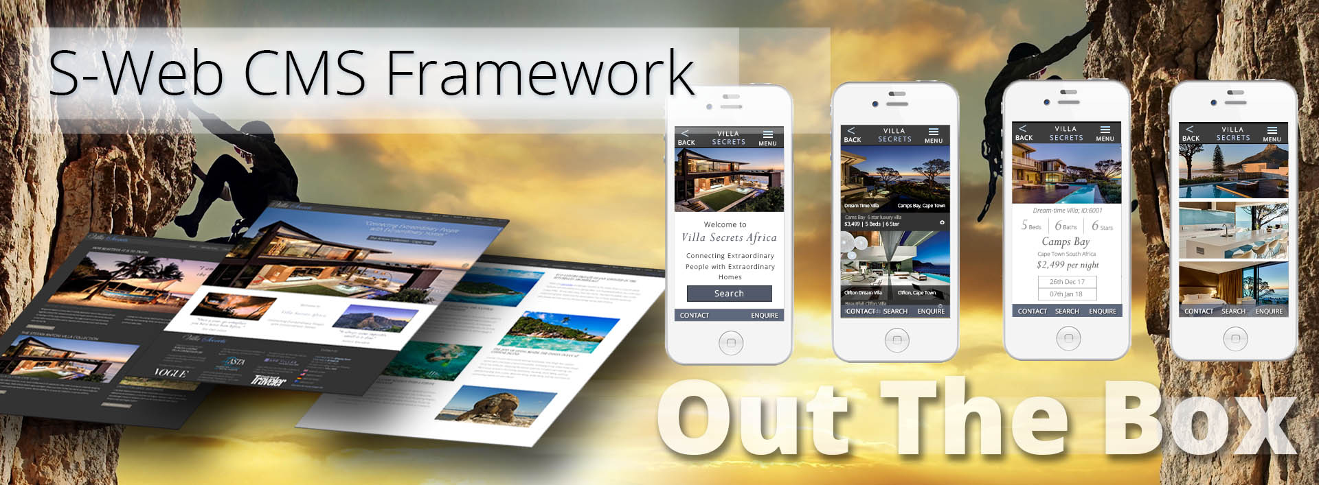 S-Web CMS Framework-Out the box