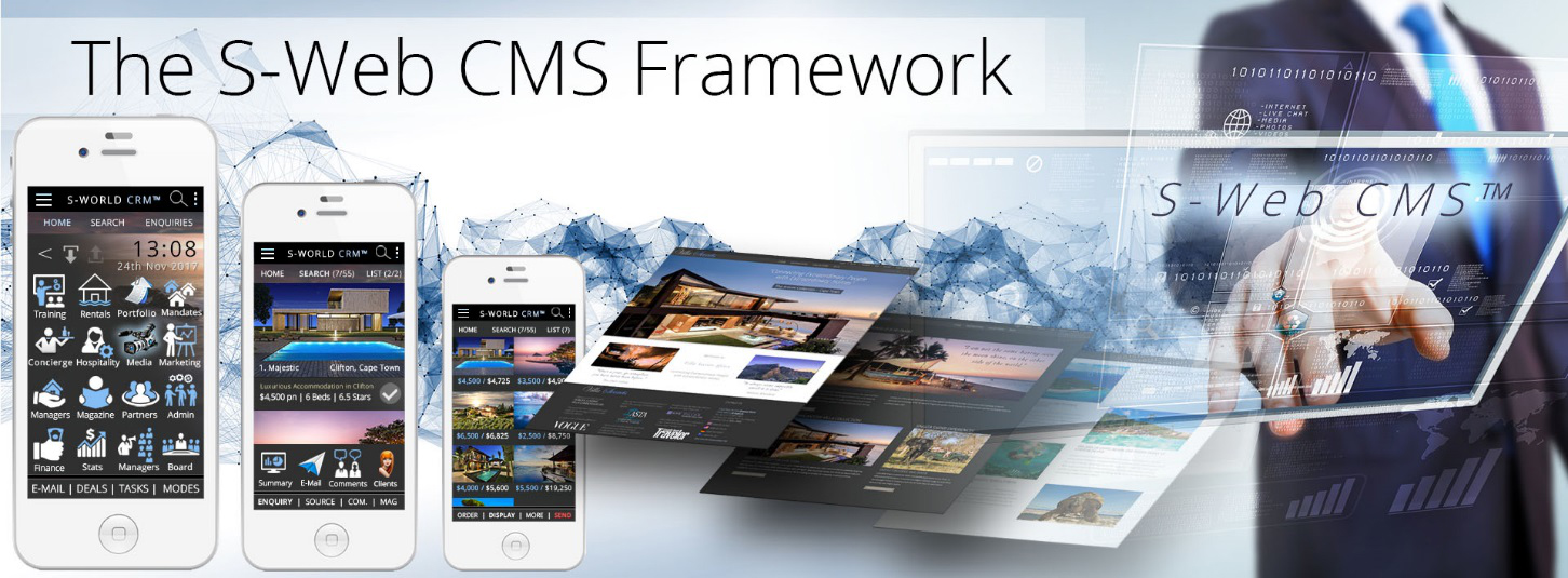 The S-Web CMS Framework