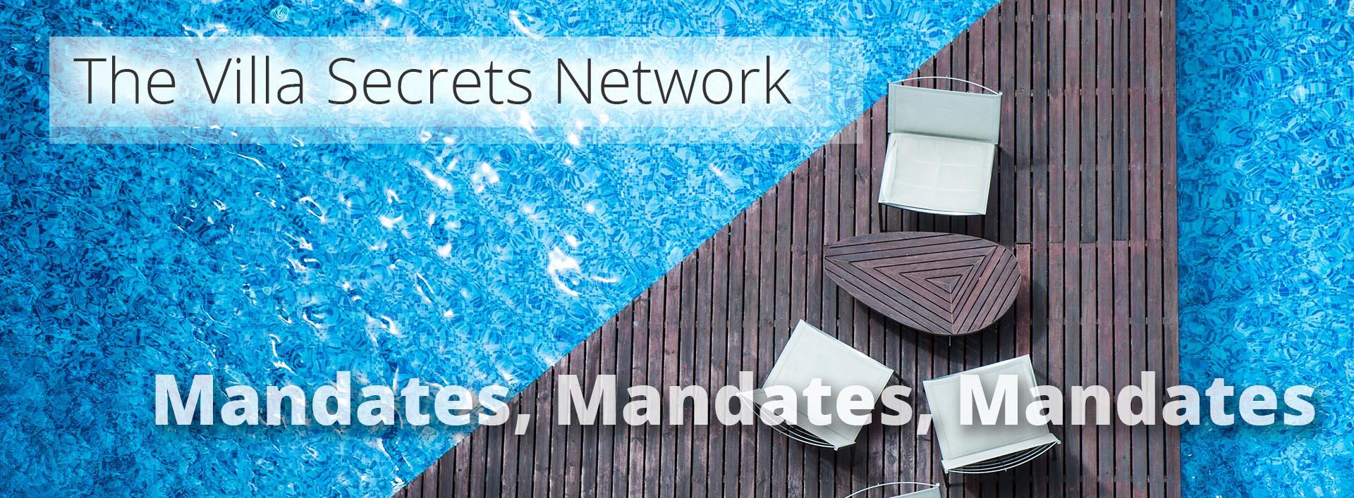The villa secrets network - Mandates-Mandates-Mandates